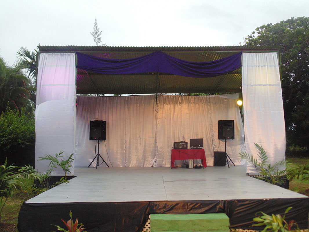 Golden Grove Music Events Stage